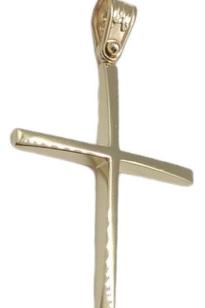 Χρυσός Σταυρός Βάπτισης ή Αρραβώνα
