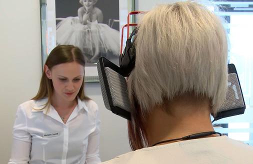 Freifeldkopfhörer zur Empfindungsmessung