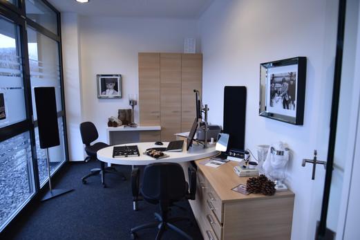 Hörerlebnisstudio mit Acam 5 Messtechnik und Videotoskopie