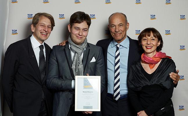 Ilona und Rainer Baumann mit Sohn Fabian