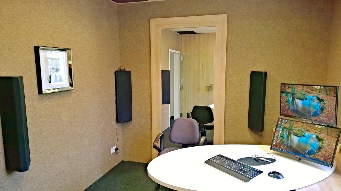 Hörerlebnisstudio mit modernster Acam 5 Messtechnik