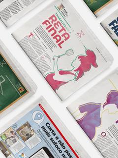 Jornais EXTRA/O Globo | Diagramação