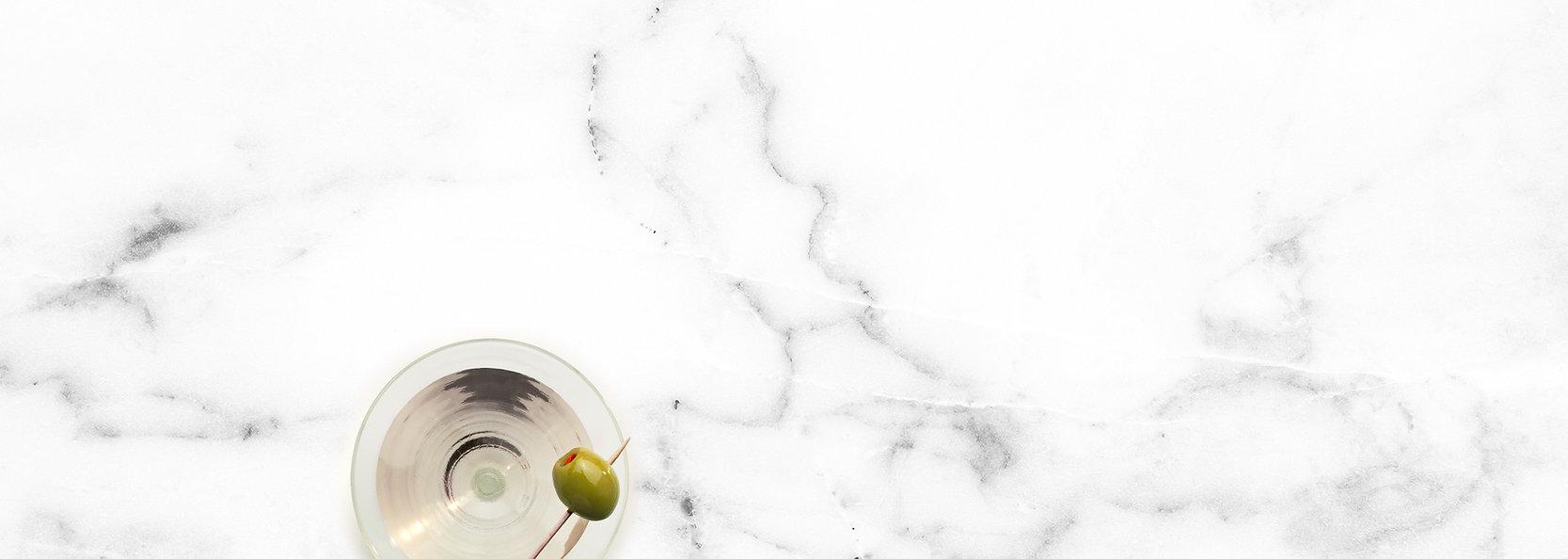 Martini on Marble