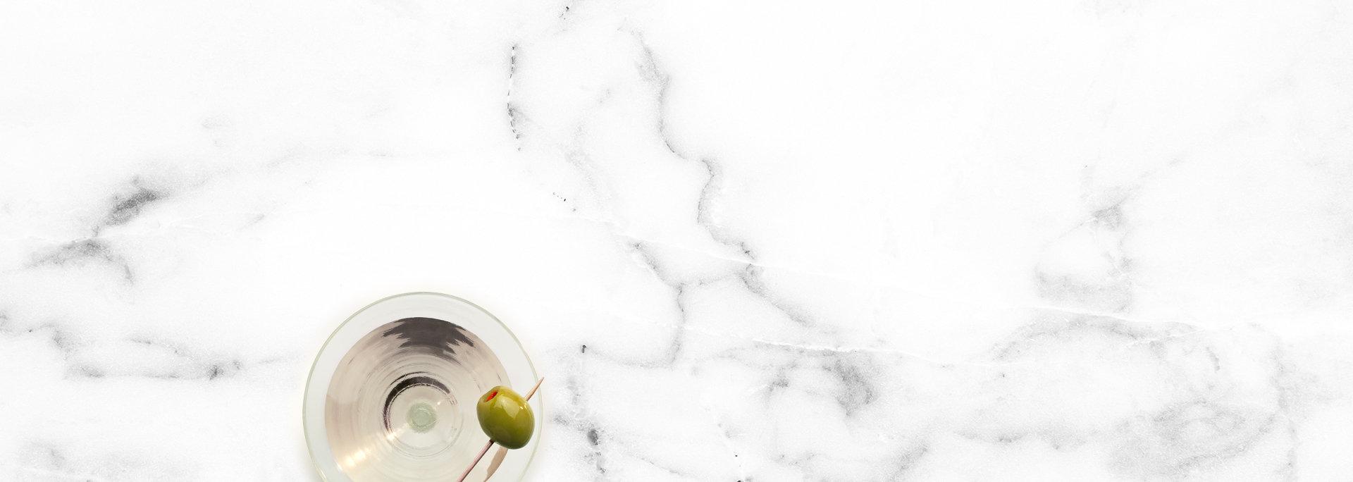 Martini на мраморе