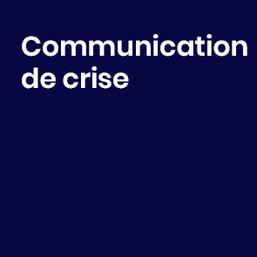 Communication crise