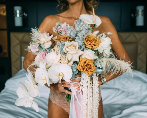 Kerissa's bridal bouquet