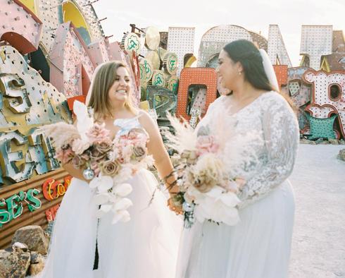 Neon Museum Brides