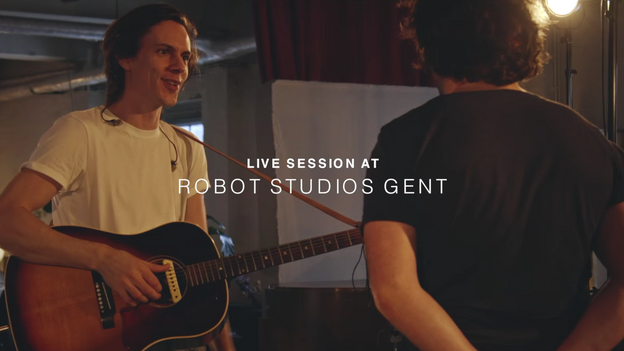 The Bony King Of Nowhere - Robot Studios Session (Trailer)