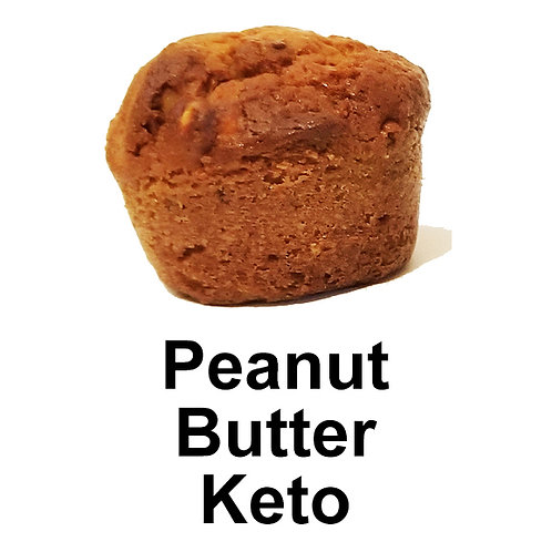 Peanut Butter Keto Muffin (peanut butter cookie)
