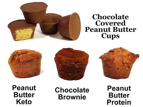 Sampler (15 muffins/6 cups)