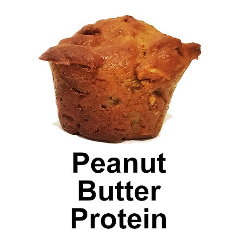 Peanut Butter Protein Muffins (banana nut)