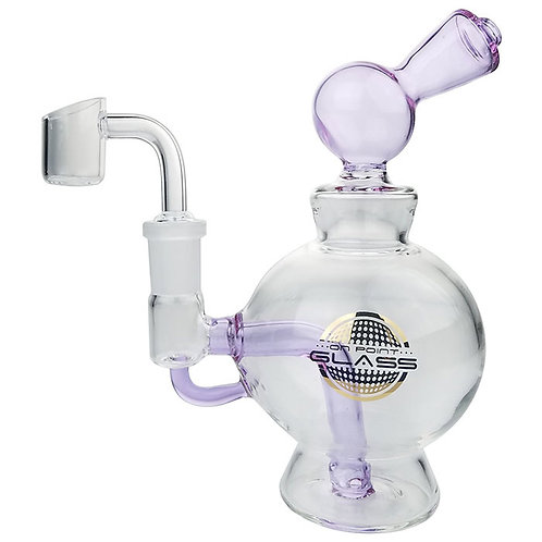 """On Point Glass Single Perc Ball 7"""" Water Pipe"""