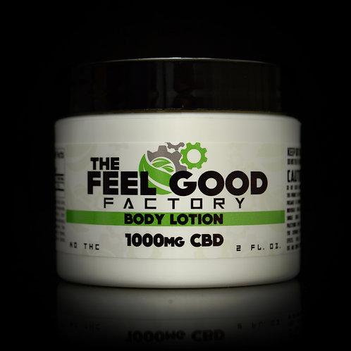 The Feel Good Factory Body Lotion CBD