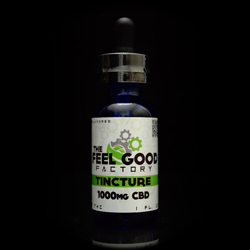 The Feel Good Factory Tincture CBD