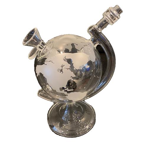 """World Globe 8"""" Water Pipe"""