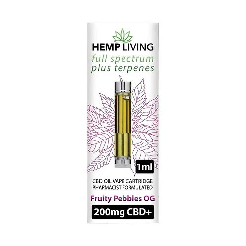 Hemp Living CBD Cartridge 500mg