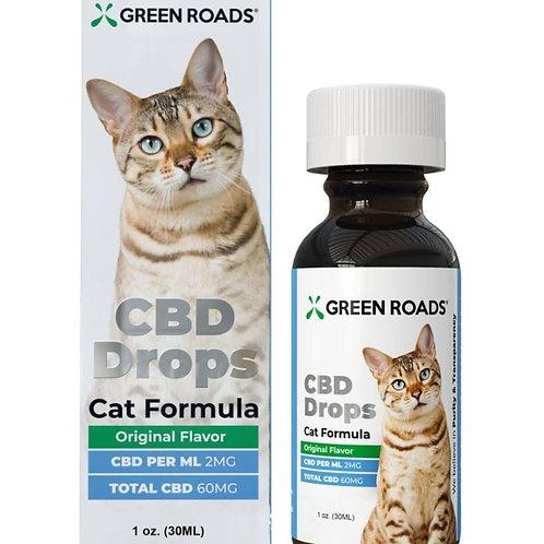 Green Roads CBD Drops For Cats