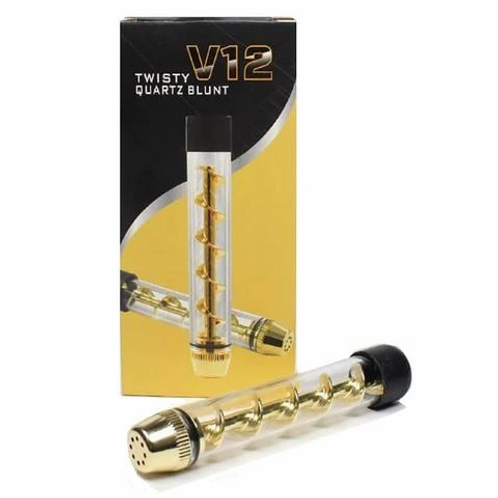 Airistech V12 Twisty Glass Blunt