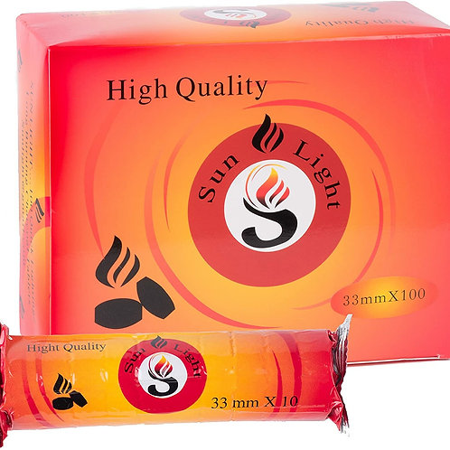 Sunlight High Quality Charco 33MM - 100CT