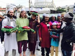 Garib Nawaz Sufi Shrine Dhoad  Played Rahis Bharti with Indian media