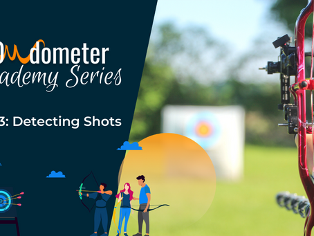 How does BOWdometer know when I'm taking a shot?