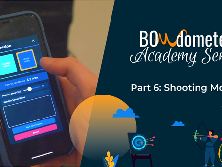What are these BOWdometer Shooting Modes and what's the difference?