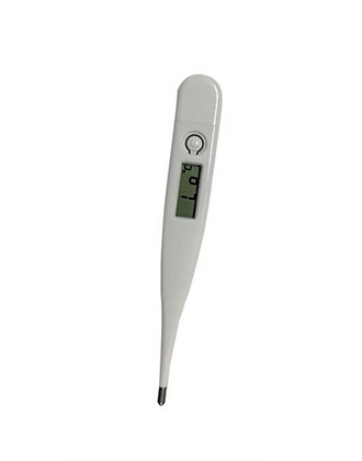 Digital Thermometer with Casing, Memory Function & Automatic Alarm
