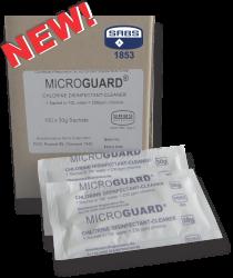 Microguard SABS 100 sachets  (100 x 30g) - Makes 10 Liters per sachet of Disinfe