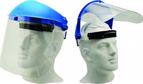 Face Shield – Brow-Guard 1mm Clear with Browguard