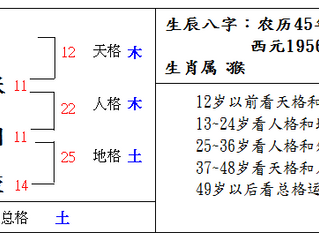 Chinese Name Analysis 张国荣