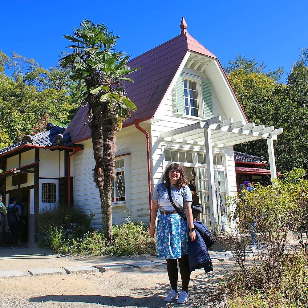 Conheci a casa das meninas do Totoro