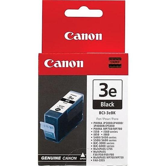 Canon Bci-3Ebk (Blk) Cartridge
