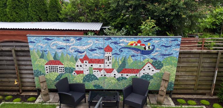 Mosaikinstallation