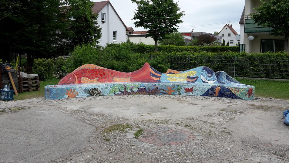 Fischbank Meitingen Unterwasserwelt