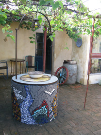 Brunnengestaltung in Uruguay