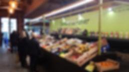 Saveurs du panier fruits et légumes à Neuilly au marché Windsor