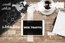 Increase Web Traffic, coffee, iPad