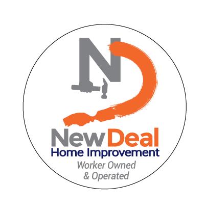 New Deal Home Improvement Logo Design.