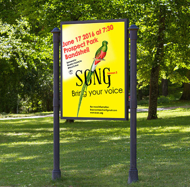 Poster/Outdoor Signage