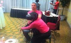 John Duffy LMT, On site chair massage