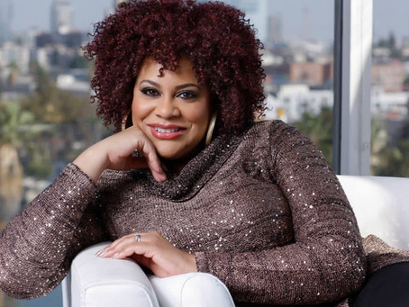 HOLLYWOOD'S LOVEABLE KIM COLES SUPPORTS ACAR