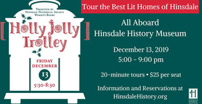 JOLLY TROLLY   Tour the Best Lit Homes of Hinsdale