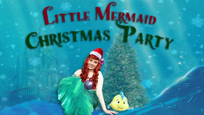 DISNEY CHRISTMAS   Little Mermaid Christmas Party