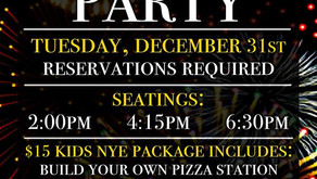 KIDS NYE | Build Your Own Pizza, DJ, and Balloon Drop in Plainfield