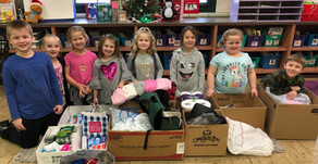 CHARITABLE CHILDREN | First Graders Give Back to Kendall County PADS