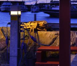 Blue hour light