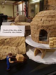Model of beehive kiln