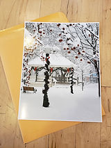 Large photo of winter gazebo by Mark Olson.