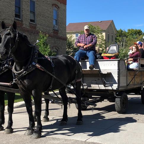 Wagon Tours of Historic Downtown Chaska