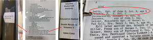 Search pathway at the Chaska History Center